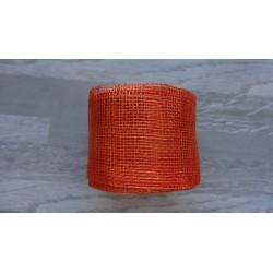 1m de Ruban de sisal orange de 5cm