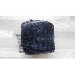 1m de Ruban de sisal bleu marine de 5cm de large