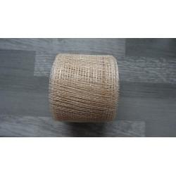 1m de Ruban de sisal écru/naturel de 4cm de large