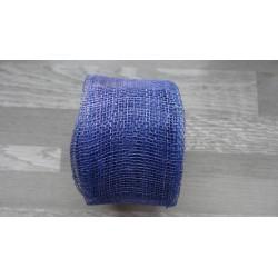 1m de Ruban de sisal bleu roi de 5cm de large