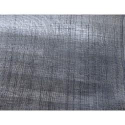 Coupon de tissu de sisal teinté noir de 50x90cm