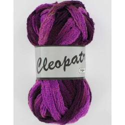 Pelote de laine cleopatra 603 dégradé de violet