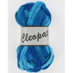 Pelote de laine cleopatra 605 dégradé de turquoise