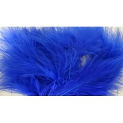 Lot de 20 Plumes Volupte - marabout bleu roi