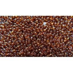 50g de Perles de rocaille 2.5mm de couleur dark topaze