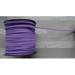 10m de suédine de 3mm de couleur violet
