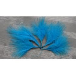 Lot de 20 Plumes Volupte - marabout turquoise
