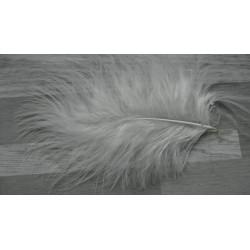 Lot de 30 Plumes Volupte - marabout blanc